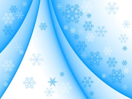background zimy śniegu