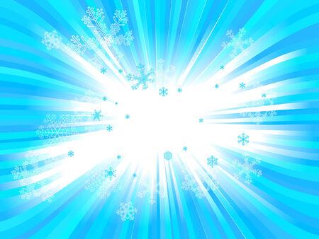 Christmas tła z płatki śniegu Ilustracje wektorowe