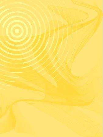 abstract achtergrond, vector, gestileerde golven, plek voor tekst