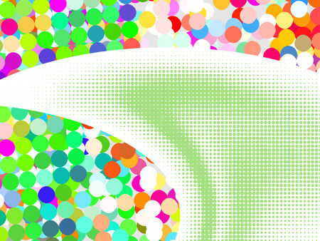 pixelate: colorful abstract background from mosaic tiles, vector without gradient