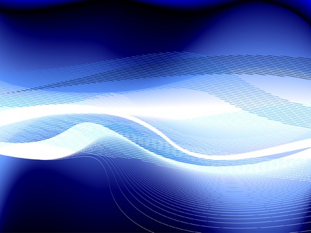 energy waves, vector without gradient, only blends Stock Vector - 6381318