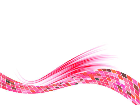 red line: abstract background, vector blur effect