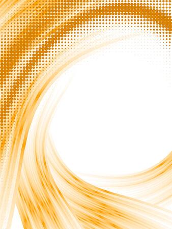 halftone lines, vector blur effect Stock Vector - 6381470