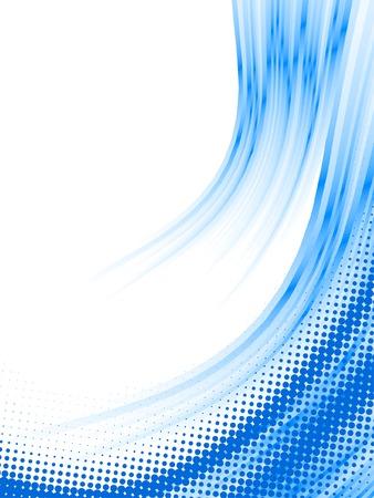 digital wave: l�neas de semitono, efecto de desenfoque de vector
