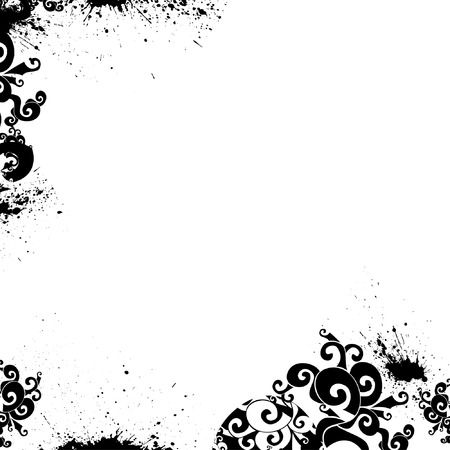 floral background, vector, floral style