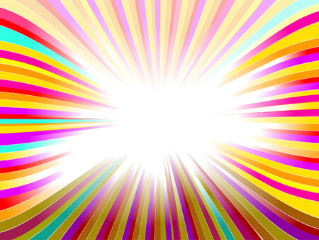 Bello resplandor, fondo abstracto de vector  Foto de archivo - 6418901