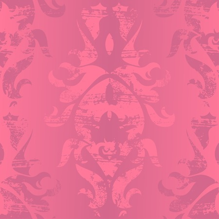 Vintage damask wallpaper , vector seamless pattern Stock Vector - 6418955