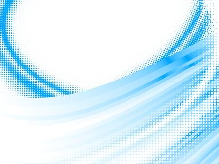 halftone lines, vector blur effect Stock Vector - 6418960