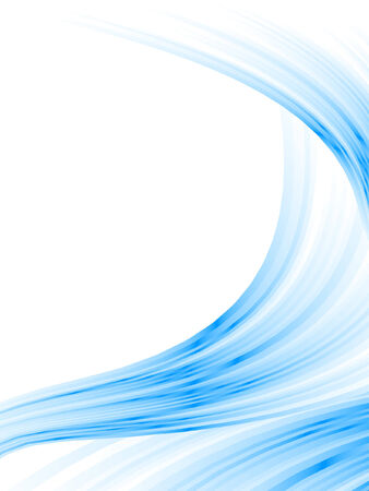 winter abstract background, vector blur effect Stock Illustratie