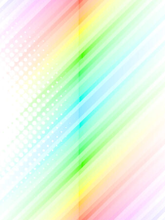 colorful lines, vector  Vector