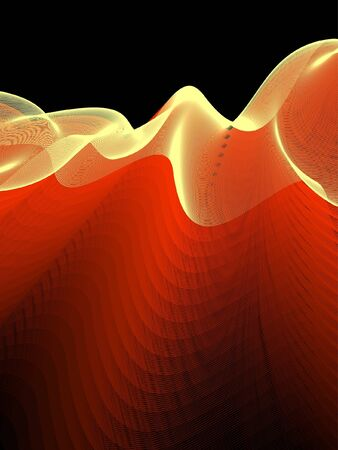 simple border: abstract background Illustration