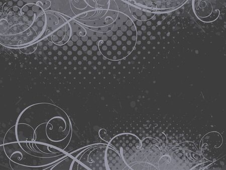 floral background, EPS 10, vector, floral style Stock Illustratie