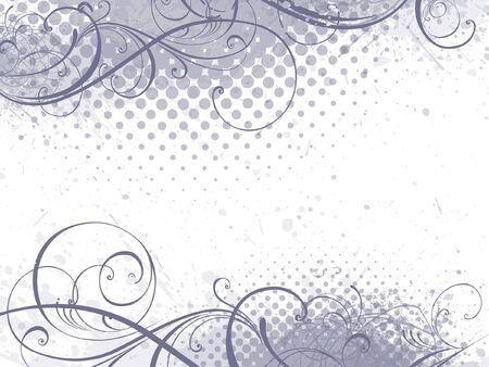 fondo elegante: fondo floral, estilo floral  Vectores