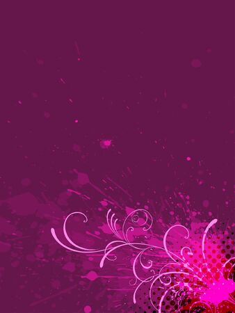 floral background. Stock Vector - 7335092