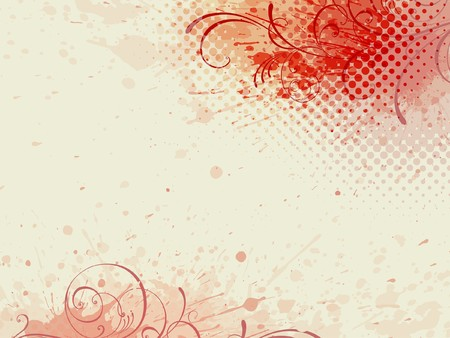 floral background, floral style Stock Vector - 7421237