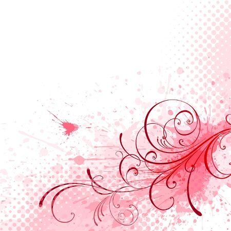 floral background  Illustration