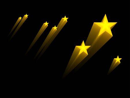 star background: 3d stars
