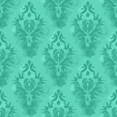 Vintage damask wallpaper ,  seamless pattern Vector