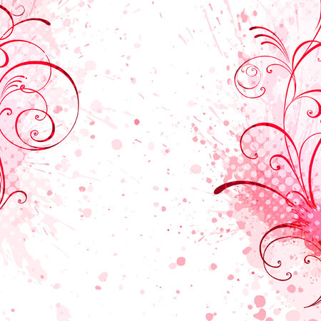 floral background floral style Stock Vector - 8328713