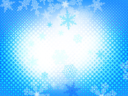 christmas  beautiful background with snowflakes  Vector