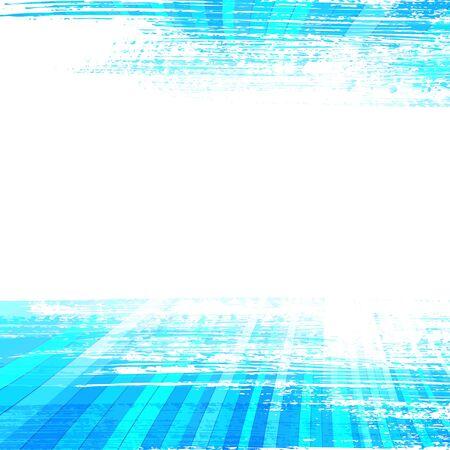 beroerte: vector eps10 met transparantie penseelstreken met perspectief