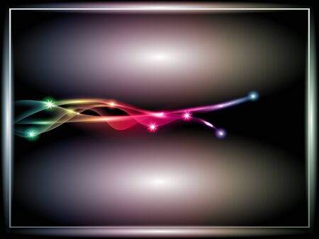 abstract glowing lines, vector, EPS 10 with transparency Vector