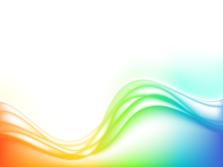 vector stylized waves, EPS10 with transparency  and mesh Stock Vector - 10475232