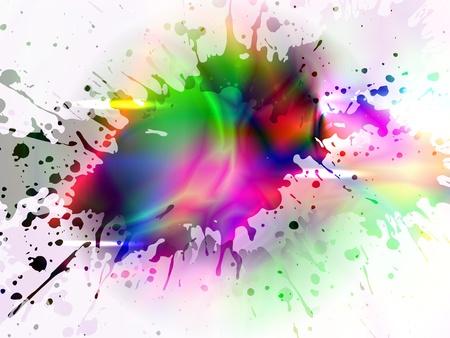 effet: vecteur de coin lumineux color�