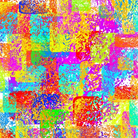 vector colorful abstract  grunge background, spotted effect