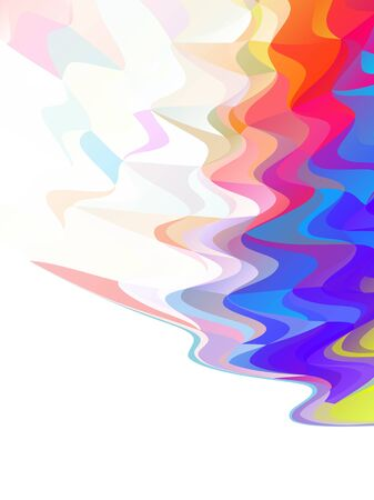 vector abstract background with gradient, ripple effect