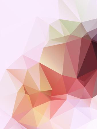 abstract background, geometric composition for your design Vector