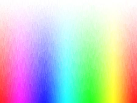color spectrum: vector rhythmic colorful rectangle tiles, gradient effect