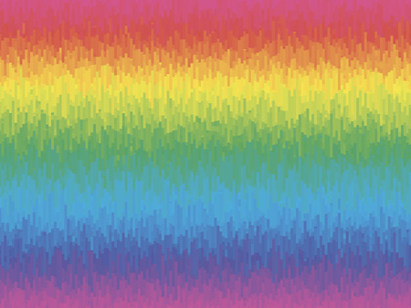 rectangle: vector rhythmic colorful rectangle tiles, gradient effect