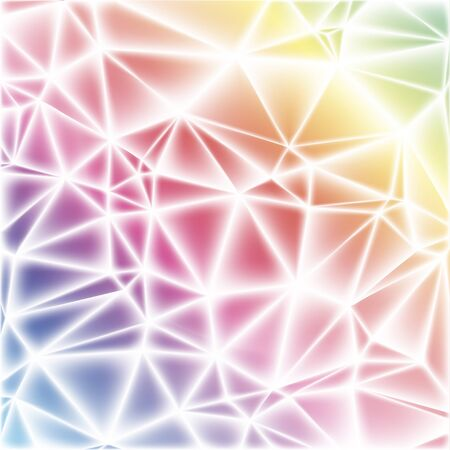 composition with triangles, gradient effect, vector EPS10