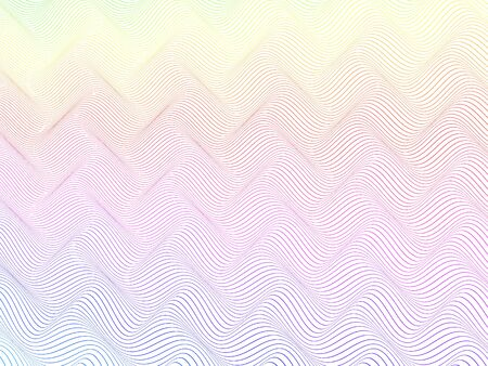 interweaving: abstract colorful wireframe distortions, vector rhythmic composition
