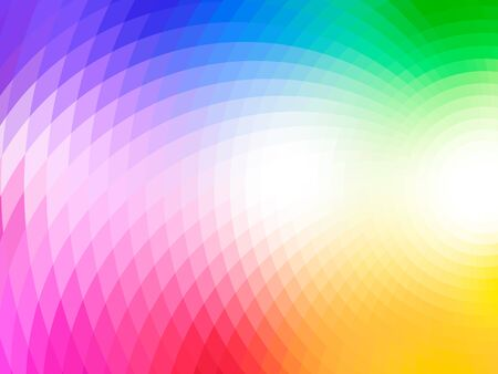effect: vector composition with grid, tiles, gradient effect