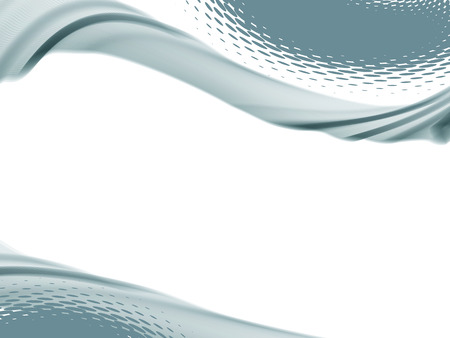 curve line: Vector wave and curve line. Illustration