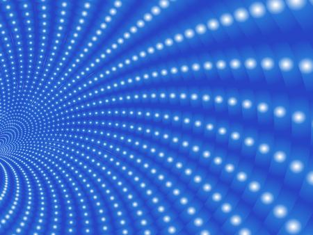 Vecteur radial blur effet spécial. Illusion d'optique du tunnel. Vecteurs