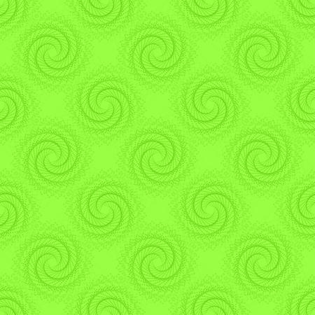 twist: illustration of geometric seamless pattern without gradient Illustration