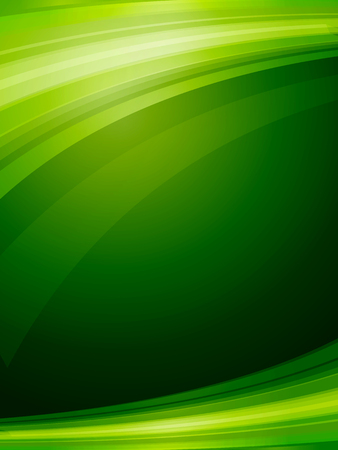 green lines: abstract background Illustration