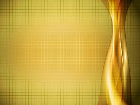 gradation art: vector 3d waves Illustration