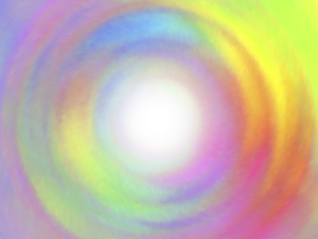 iridescent: Optical illusion of radial blur effect. Abstract background with iridescent mesh gradient. Colorful noise, special effect. Colorful shades. Visual illusion of oil paintings.