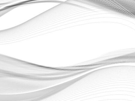 ondulado del vector y la línea curva con la transparencia. Composición abstracta con las líneas de la curva. líneas borrosas con copia espacio. El lugar de texto. líneas fronterizas Ilustración de vector