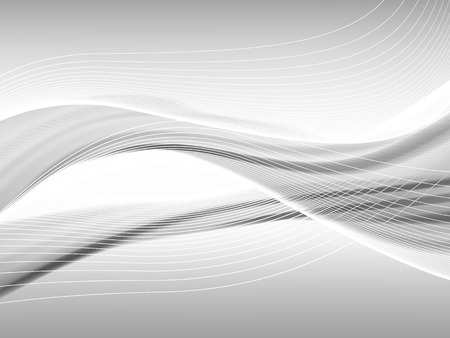 Vector ondulée et la ligne de courbe avec transparence. Composition abstraite avec des lignes courbes. lignes brouillées avec copie espace. Placez pour le texte. lignes frontalières