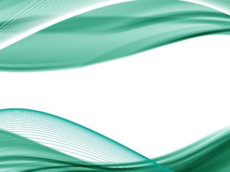 bordes decorativos: ondulado del vector y la línea curva. con la transparencia. Composición abstracta con las líneas de la curva. líneas borrosas con copia espacio. El lugar de texto. líneas fronterizas