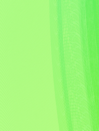 abstract green lines illustration Illustration