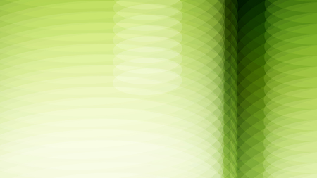 blur effect: Wide format abstract background, visual illusion of gradient effect. Rhythmic circles. Decorative shapes. 3d green background. Vector EPS10 without gradient with transparency. Motion blur illusion