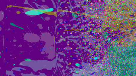 ワイドフォーマットの抽象的なグランジの背景。グラデーションのないベクトル。テキスト用に配置します。ペイントスプラッシュ。プレゼンテーション名刺の背景。フルHD 4Kグランジの壁紙。透明度付きベクトル EPS10