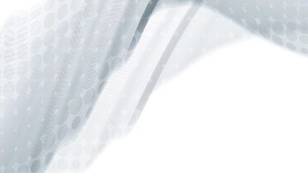 Vector 3d effect waves with transparency.