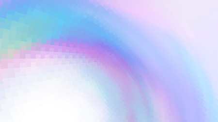 Abstract colors composition with squares. Optical illusion of blur effect. Place for text. Vector EPS10 background for presentation, flyer, poster. Digitally wallpaper.